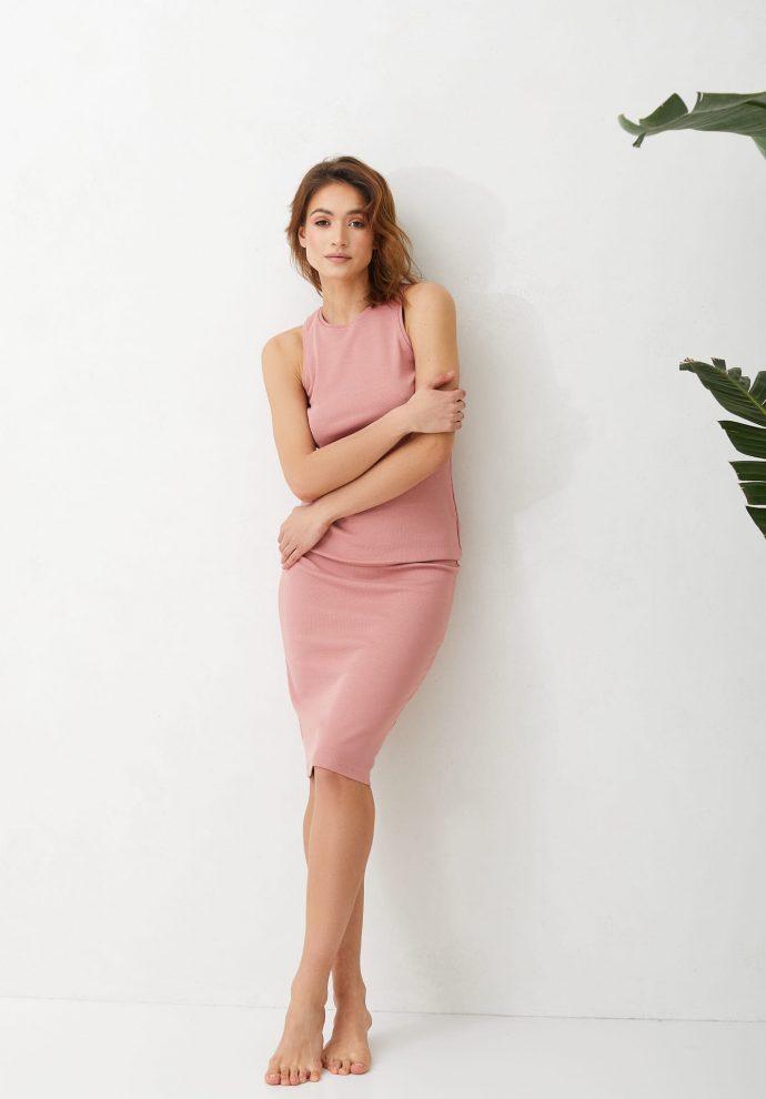 spódnica ściągaczowa Suzane różowa
