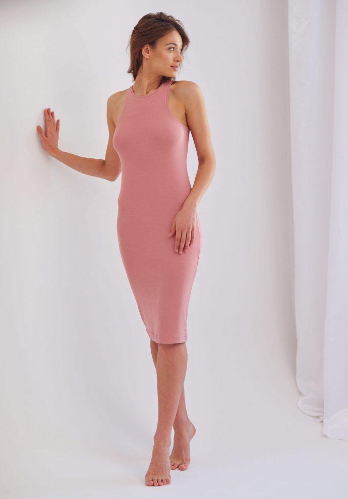 sukienka bokserka Suzane rózowa