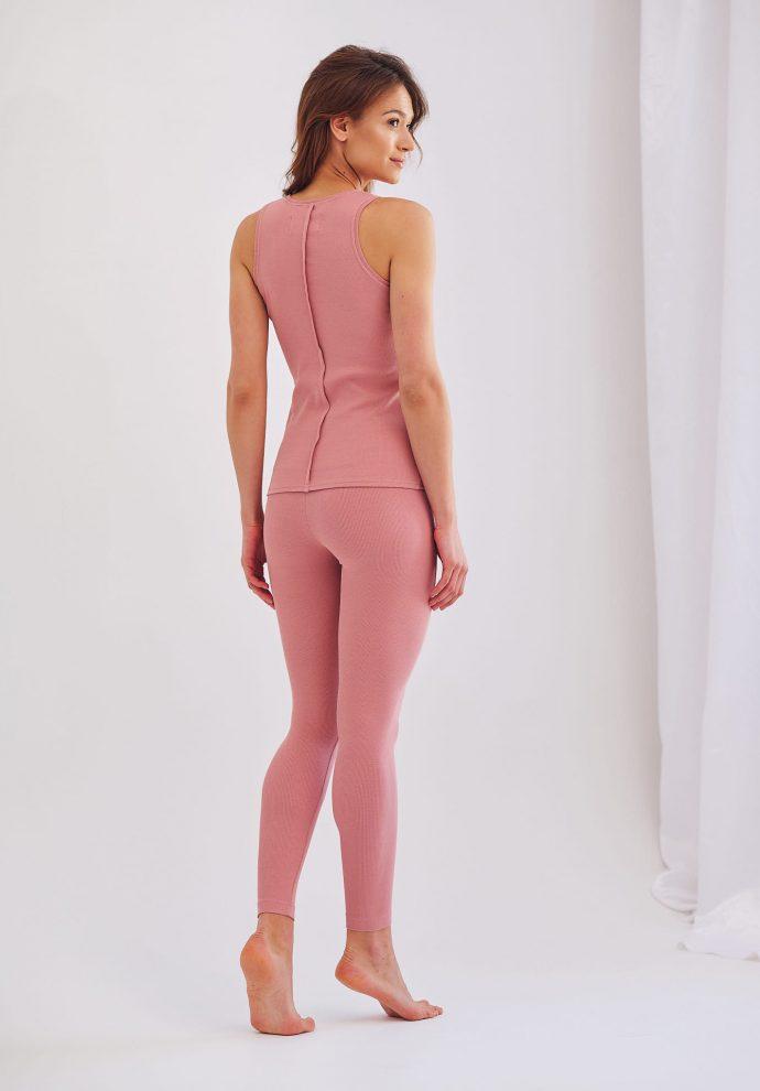 Leginsy różowe Suzane- zdjęcie 2