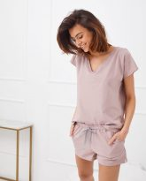 T-shirt do spania Wenus lila