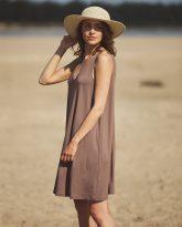 sukienka Lea cappucino
