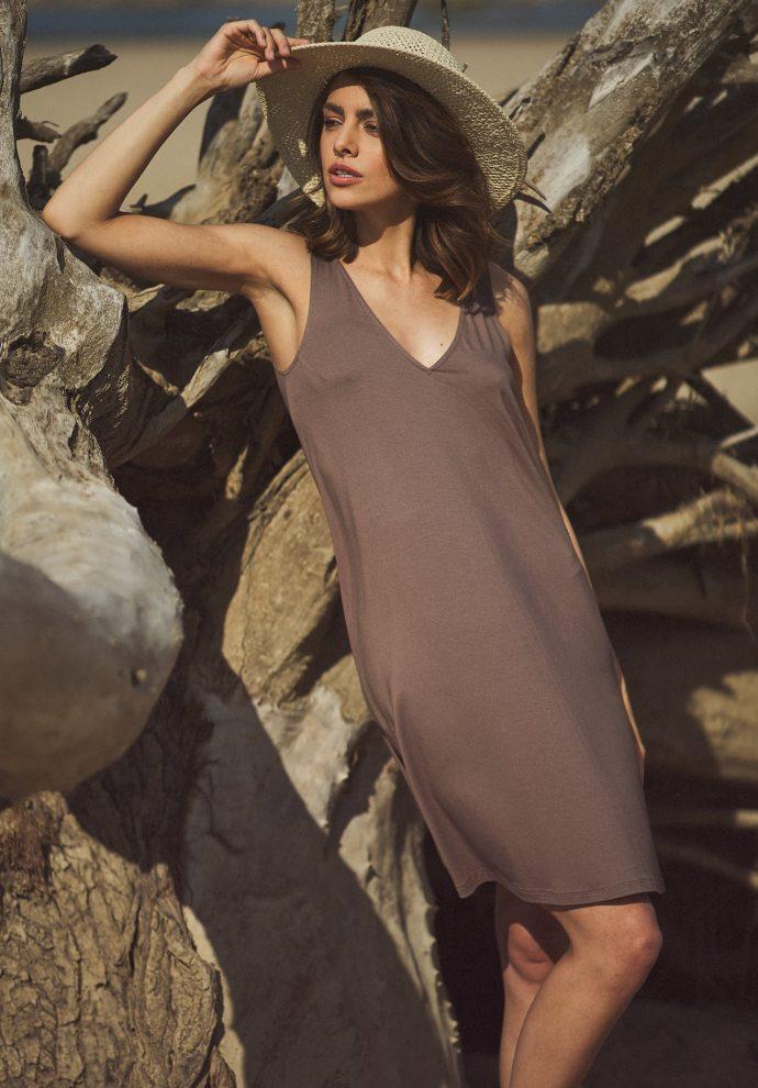 sukienka Lea cappucino - zdjęcie 2