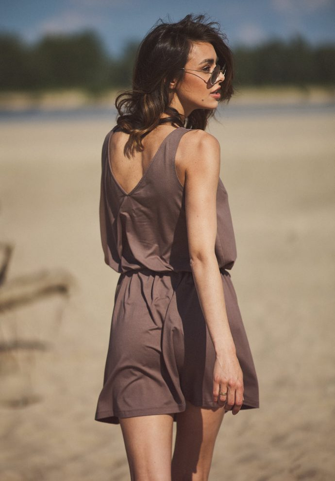 sukienka Lea cappucino - zdjęcie 3
