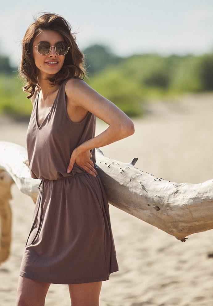 sukienka Lea cappucino - zdjęcie 5
