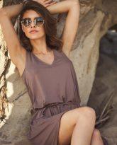 sukienka Lea cappucino - zdjęcie 4