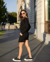 sukienka Harper czarna - zdjęcie 6