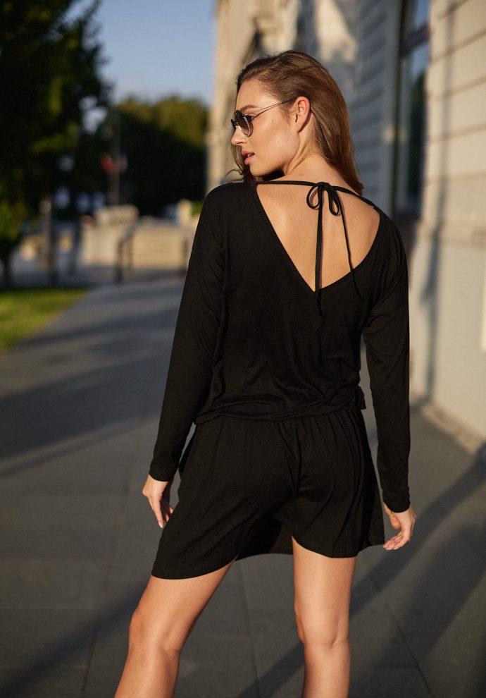 sukienka Harper czarna - zdjęcie 4