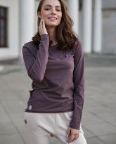 bluzka Emma czekoladowa