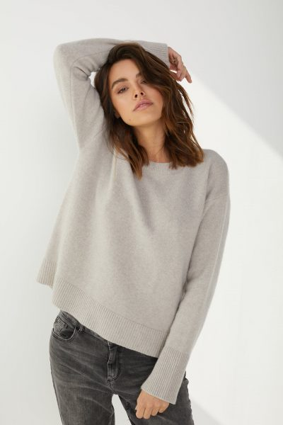 SWETER SALLY BEŻOWY