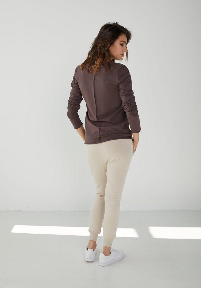 spodnie dresowe bagry piaskowe- zdjęcie 2