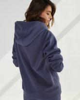 bluza z kapturem Rita niebieska- zdjęcie 2