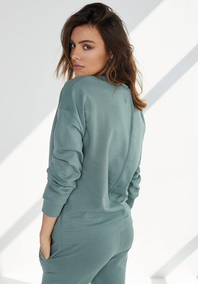 bluza Ana zielona- zdjęcie 2