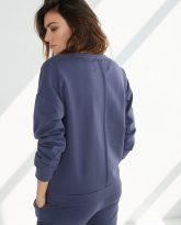 bluza Ana niebieska- zdjęcie 2