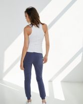 spodnie dresowe Joggers niebieskie- zdjęcie 2