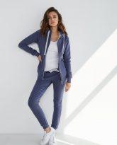 spodnie dresowe Joggers niebieskie- zdjęcie 3