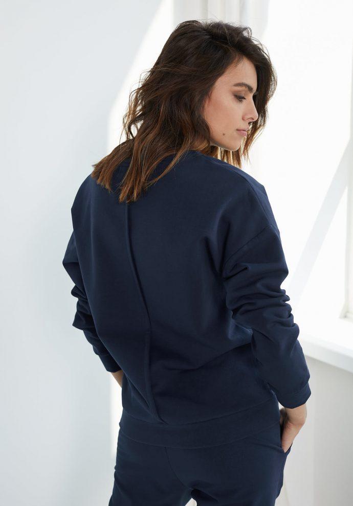 bluza Ana granatowa - zdjęcie 2