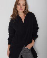 Koszula muślinowa czarna Juliette- zdjęcie 5
