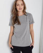 t-shirt z krótkim rękawem Tina szary
