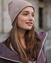 czapka dwustronna cappucino-kamel- zdjęcie 2